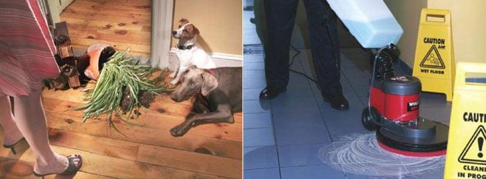 Hard Floor Cleaning & Maintenance